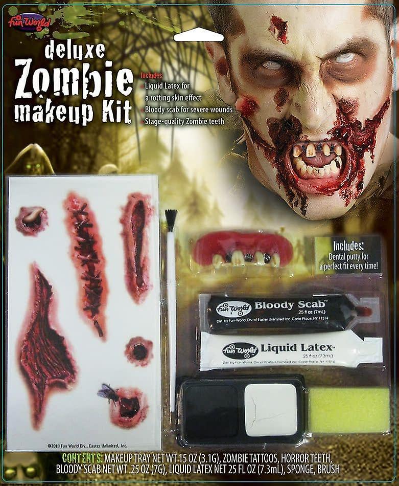 Kit Zombie Deluxe Zombie Deluxe Kit Zombie Makeup Makeup Deluxe vnOmNw08