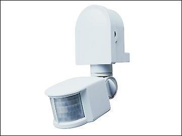 Byron ES90W Motion Detector Light White