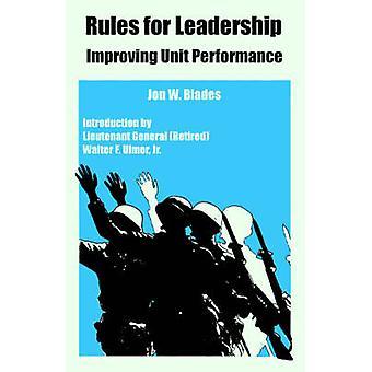 Règles pour le Leadership en améliorant les performances de l'unité de lames & Jon & W.