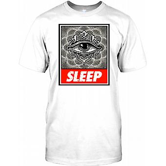 Sleep Illuminatii Conspiracy Mens T Shirt