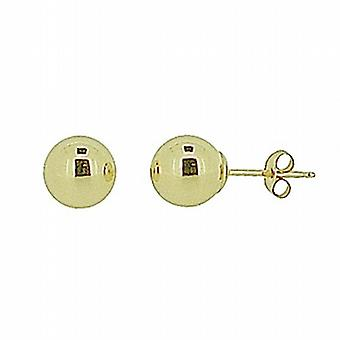 The Olivia Collection 9ct Yellow Gold 6mm Ball Stud Earrings