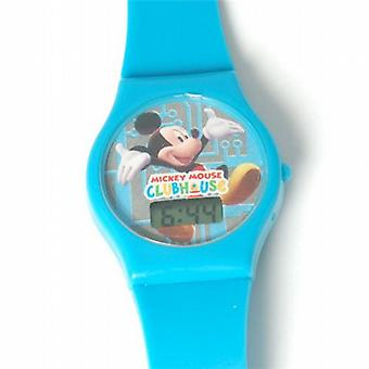 Disney Mickey Mouse Watch Clubhouse Digital Blue Strap Kids Watch