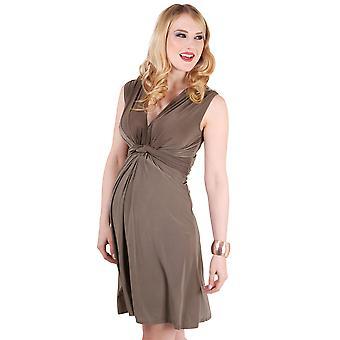 KRISP Womens Knot Front Dress