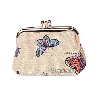 Butterfly women's coin purse by signare tapestry / frmp-butt