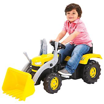 Dolu Kid's Children Ride On Yellow Digger With Shovel Loader Age 3+ Excavator