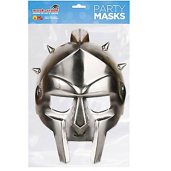 Gladiator Helmet Historical Single 2D Card Party Face Mask