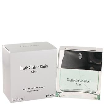 VERDAD by Calvin Klein Eau De Toilette Spray 1.7 oz/50 ml (hombres)
