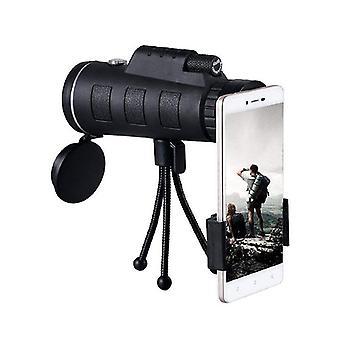 40x60 bak4 monocular telescope - black