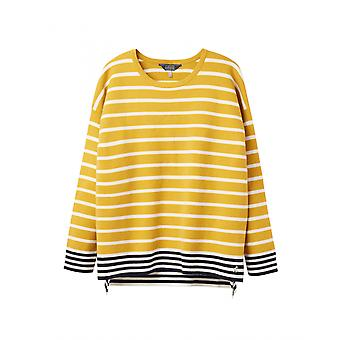 Joules Uma Womens Boat Neck Jumper - Antique Gold
