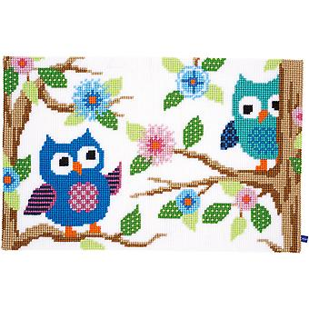 Uil Talk Rug Cross Stitch Kit-29,5