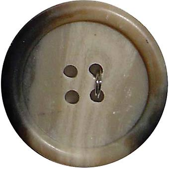 Slimline Buttons Series 2 Beige 4 Hole 1