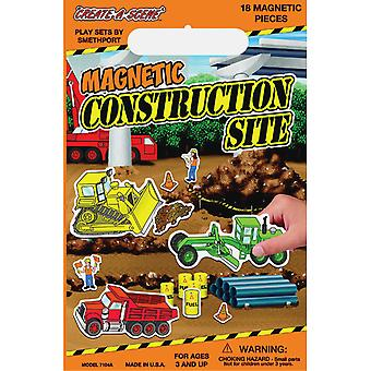 Magnetic Create A Scene Kit Construction Site Pp7104