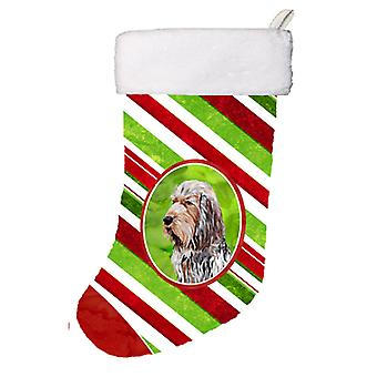 Otterhound sukkerstang Christmas Christmas Stocking SC9804-CS
