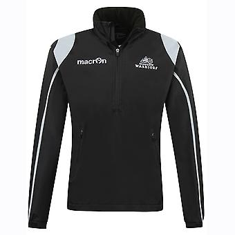 2016-2017 Glasgow Warriors Rugby impermeable chaqueta (negro)