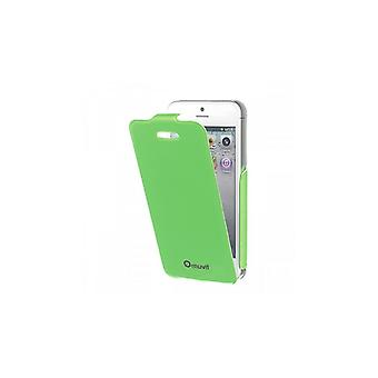 Muvit Iflip Case Fluosh Groen Voor Apple Iphone 5/5s