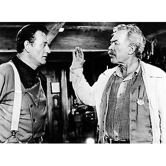 The Searchers John Wayne Ward Bond 1956 Photo Print