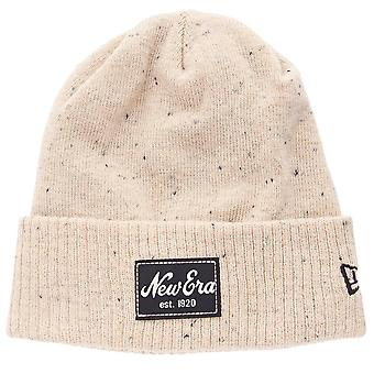 New era winter cap Beanie - BLOT KNIT beige