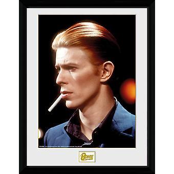 David Bowie dym Collector Print