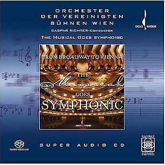 Caspar Richter - The Musical Goes Symphonic [SACD] USA import