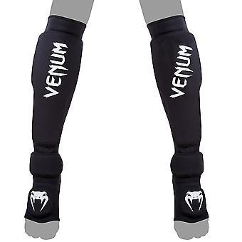 Venum Kontact Evo Shin Guards - Black