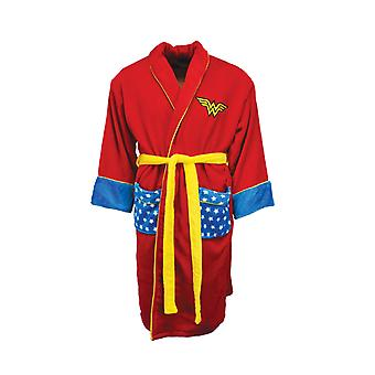 Wonder Woman Star Pockets Bathrobe / Dressing Gown