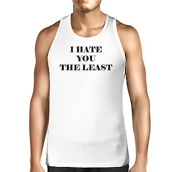 I Have You The Least Mens Tank Top Humorous Design Graphic Tanks