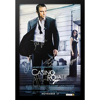 James Bond: Casino Royale - Signed Movie Poster