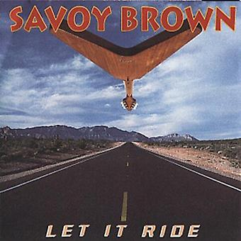 Savoy Brown - lad det Ride [CD] USA import