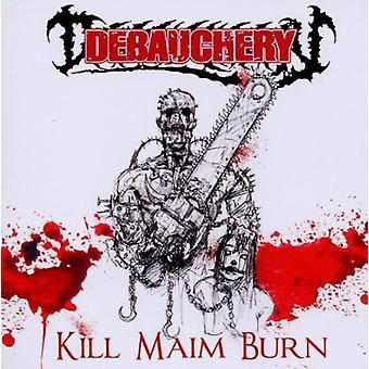 Utsvävningar - Kill lemlästa bränna (återutgåvan) [CD] USA import