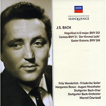 Fritz Wunderlich - J.S. Bach: Magnificat in D Major, Bwv 243; Cantata Bwv 31; Easter Oratorio Bwv 249 [CD] USA import
