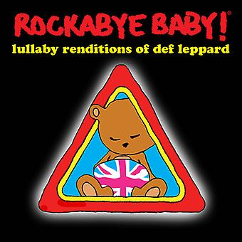 Rockabye Baby! - Lullaby Renditions of Def Leppard [CD] USA import