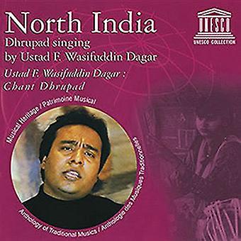 Forskellige kunstner - nordlige Indien: Dhrupad sang af Ustad [CD] USA import