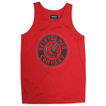 Brixton Grizzly Tank Top Red