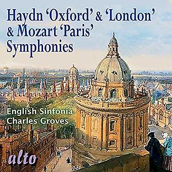 Sinfonia inglese Charles Groves - Haydn: Oxford & sinfonie di Londra; Importazione USA Mozar [CD]