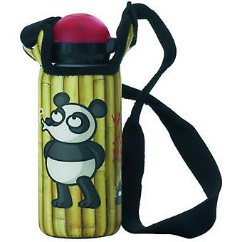 Laken-Kukuxumusu Bottle 0.45 L. Bambu neoprene sleeve (Garden , Camping , Kitchen)