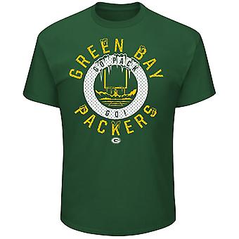 Majestic STARTLING shirt - Green Bay Packers celtic Green