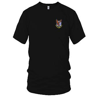 USAF Airforce - Air Defense Command geborduurde Patch - Mens T Shirt