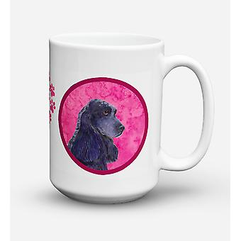 Cocker Spaniel  Dishwasher Safe Microwavable Ceramic Coffee Mug 15 ounce SS4747