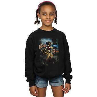 DC Comics Girls Wonder Woman Bombshell Cover Sweatshirt