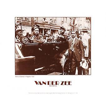 Marcus Garvey in Regalia 1924 Poster Print by James Van Der Zee (14 x 11)