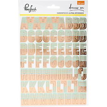 Dream On Cardstock Stickers 5