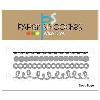 Paper Smooches Dies-Deco Edge NOD415