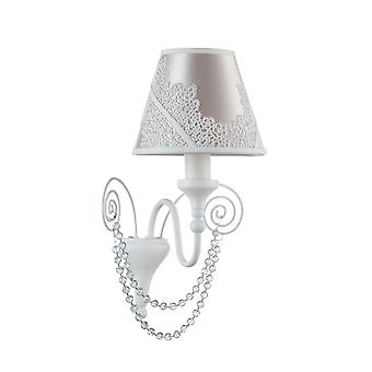 Maytoni Lighting Lucy Elegant Collection Sconce, White Glossy
