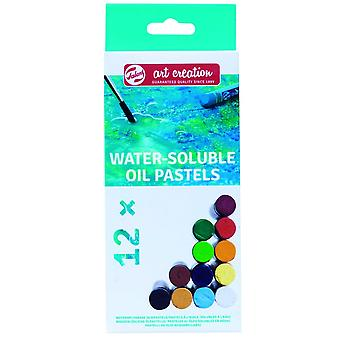Royal Talens Art Creation Water-Soluble Oil Pastels Pack Of 12