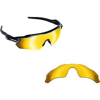 Radar EV Path Replacement Lenses Polarized Gold by SEEK fits OAKLEY Sunglasses