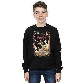 Disney gutter Bambi Retro plakat Sweatshirt