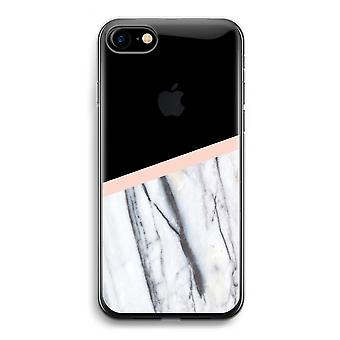 iPhone 7 Transparent Case - A touch of peach