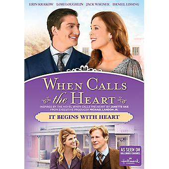 When Calls the Heart: It Begins with Heart [DVD] USA import