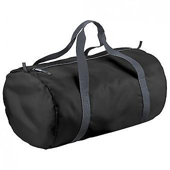 BagBase Packaway Barrel Bag / Duffle Water Resistant Travel Bag (32 Litres)