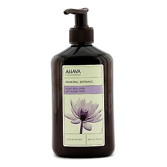 Ahava Mineral Botanic Velevt Body Lotion - Lotus & Chestnut 400ml/13.5oz